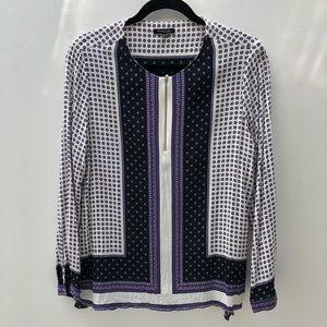 Massimo Dutti long sleeve shirt - size 10